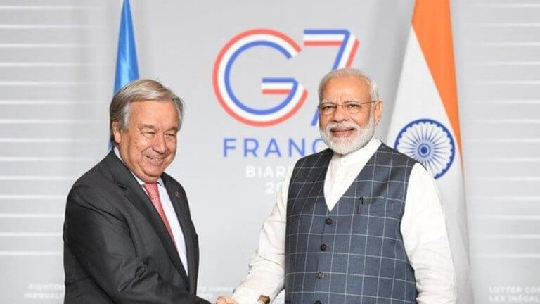 Modi to Address the Climate Change Issue in the G7 Summit