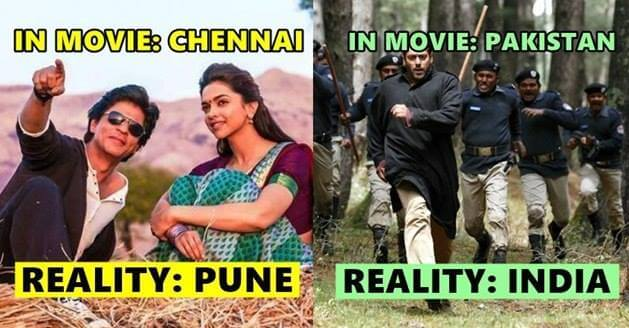 Movies Where Bollywood Faked the Locations